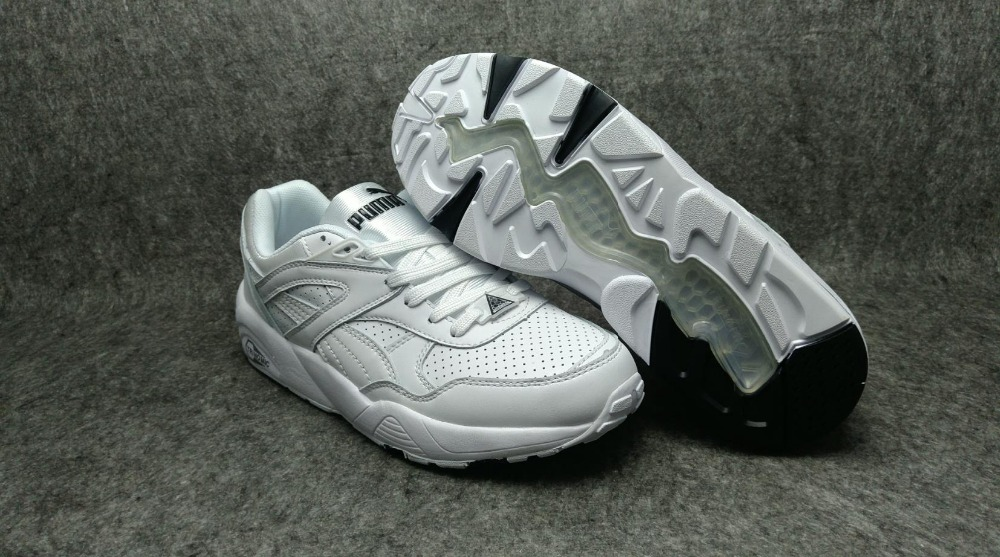 New Arrival  Puma Trinomic R698  Womens shoes Breathable Sneakers Badminton Shoes