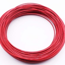 1,5 мм-5 мм, 3 м-50 м, 304 трос из нержавеющей стали с красным покрытым кабелем бельевая веревка для крепления стальной проволоки