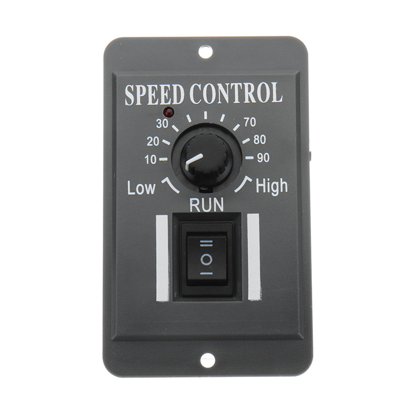 Lower Price with Dc 10v-60v 6a Motor Speed Governor Slow Down Motor Controller Module Positive And Negative Rotating Control Switch Active Components Integrated Circuits