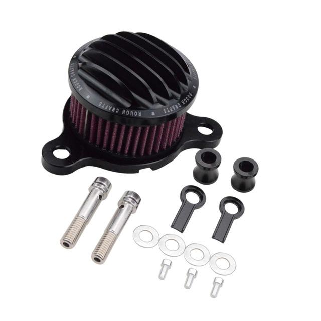 Syetem Goofit Áspera Artesanato Air Filter Cleaner Intake para Harley Sportster XL883 YF Motos P091-231