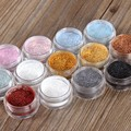 12 Colors Eye Shadow Flash Powder Super Bright Pearl Shining Bright Glitter Powder Pink Diamond Makeup M02529