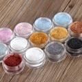 12 Cores da Sombra do Olho Pó de Flash Super Brilhante Pérola Brilhando Pó Glitter Diamante Rosa Maquiagem M02529
