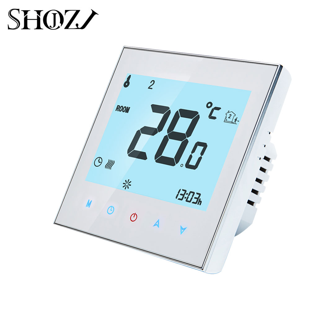 WiFi Thermostat Temperature Controller for Gas Boiler/Water/Electric floor Heating Water/support Google Home Alexa voice control 6