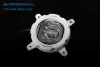 Barrowch 115X RGB Transparent Acrylic CPU Waterblock 0 3MM Microcutting Micro Waterway For INTEL 115X FBLTBH