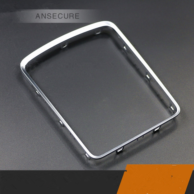 OEM FRONT CENTER CONSOLE SILVER FRAME For <font><b>Audi</b></font> Q5 <font><b>A4</b></font> B8 A5 2009-2015 8K0 864 260 image