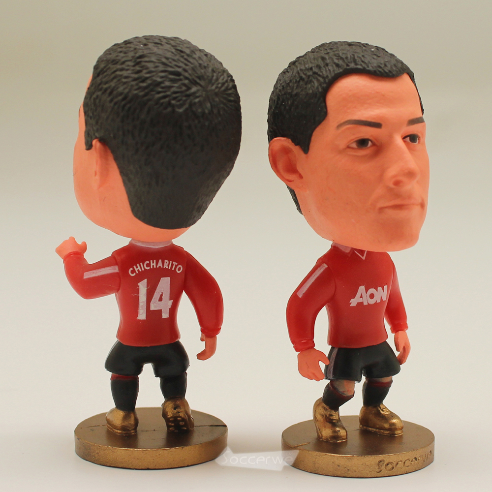 Football star Soccer Star 14# CHICHARITO (MU-Classic) 2.5 Action Dolls Figurine