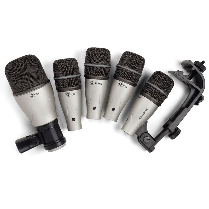 buy samson 5kit 5 sets drum pickup microphone professional jazz drum microphone. Black Bedroom Furniture Sets. Home Design Ideas