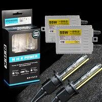2pcs AC 55W hid xenon bulb lamp car fast start headlamp headlight for NHK h1 h3 h7 h11 h4 F5 ballast car styling modify DIY