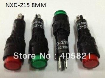 Indicator pilot light/ indicator lamp NXD-215 8mm 6V 12V 24V 110V 220V