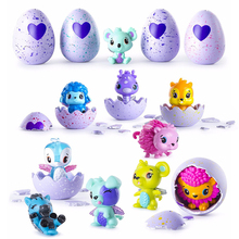 1pcs Hatching Animals Surprise Eggs Hatchable Egg Surprise Doll Toy For Christmas Gift Magic Hatching Eggs Action Figure Dolls