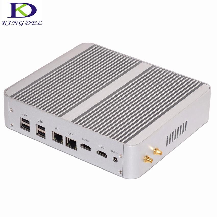 2017 más reciente sin ventilador mini pc core i7 5550u nuc nettop ordenador inte