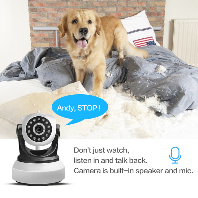 SDETER Wireless Security IP Camera WIFI Home Surveillance 720P Night Vision CCTV Camera IP Onvif P2P Baby Monitor Indoor Webcam