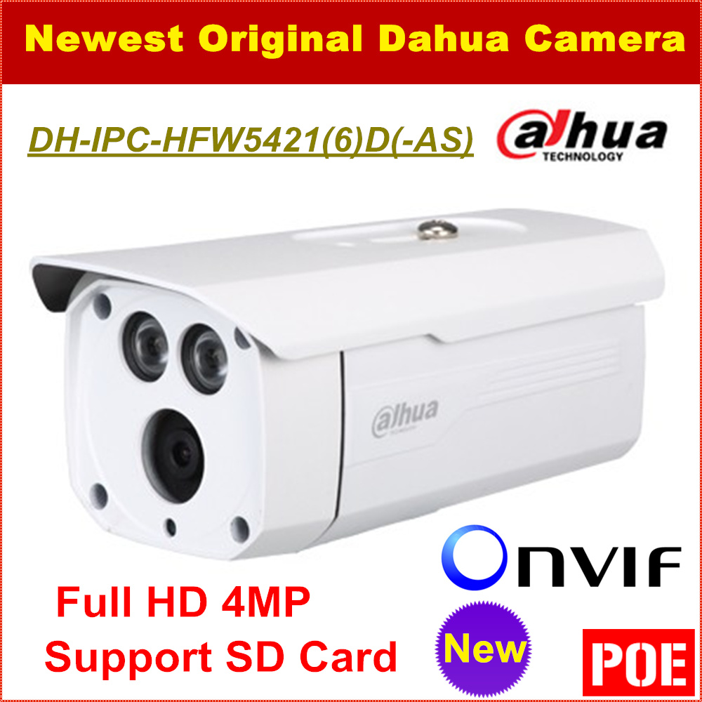 все цены на  Dahua IP Camera IPC-HFW5421D Full HD 4MP Waterproof IP67 Security CCTV Camera Support POE Onvif and SD Card DH-IPC-HFW5421D  в интернете