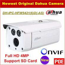 Dahua IP Camera IPC-HFW5421D Full HD 4MP Waterproof IP67 Security CCTV Camera Support POE Onvif and SD Card DH-IPC-HFW5421D