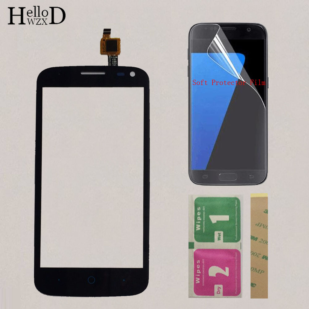 Mobile Phone Touch Screen For ZTE Blade Q Lux / Qlux 3G 4G TouchScreen Touch Screen Panel Digitizer Repair Parts Protector Film