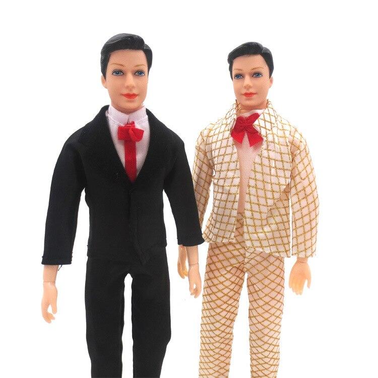 30cm Prince Wedding Suit Guy Princess Dolls Boyfriend Dolls Fashion Handsome Guy Doll Boy Prince Dolls Toys Kids Birthday Gift
