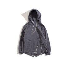 Retro Spring Winter Hoodie sweatshirt Men new arrival brand clothing male Harajuku 100% cotton Hoody fashion 2017 new