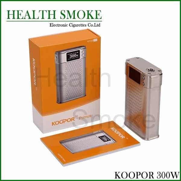 НОВЫЙ 100% Оригинал Smok Koopor Primus 300 Вт TC/VW Большой OLED Экран Трансформаторы Форму Коробки Мод подходит 18650 батареи