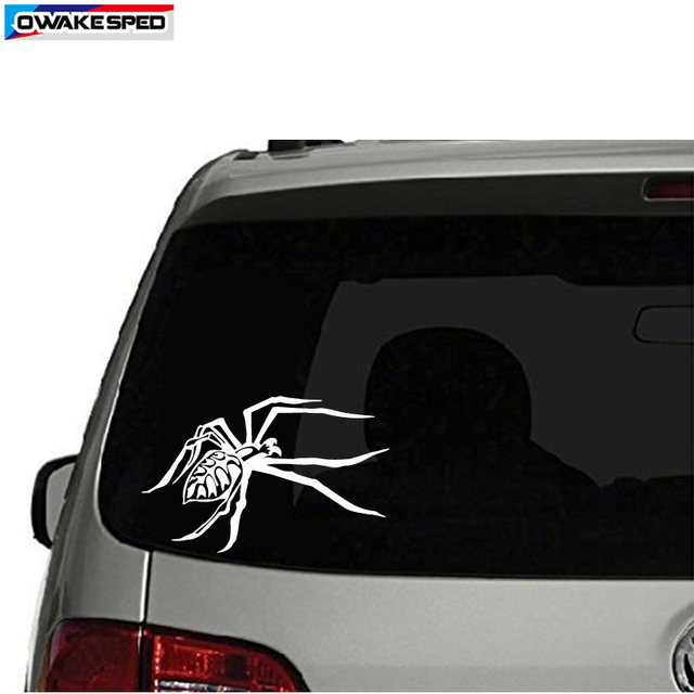 Creative Spider Car Vinyl Sticker Body Tail Tank Decorative Decal Sport Racing Styling For Toyota Honda