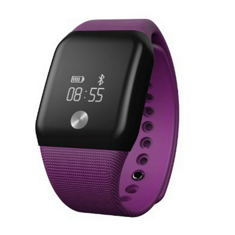 ФОТО Intelligent blood oxygen heart rate monitoring motion intelligent Bracelet touch screen meter step dual compatibility