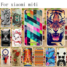 Anunob TPU Case For Xiaomi Mi4c Cover Silicone Coque for Mi 4c Mi4i Fundas 4i Bumper