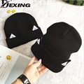 [Dexing] estilo estrela gato outono inverno gorros chapéu moda senhora meninas lã faz hotspot C Ouvido Chapéu chapéus das senhoras da primavera e outono