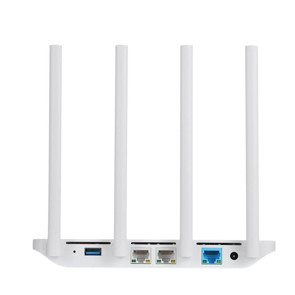 Origine Xiao mi mi 3G Routeur répéteur wi-fi 2.4G/5 GHz Double 128 MB Bande Flash ROM 256 MB Mémoire APP Contrôle 802.11ac routeur sans fil - 4