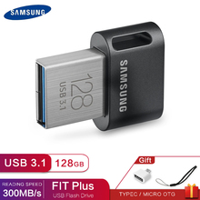 Usb 3,1 samsung Usb флеш-накопитель 256 ГБ 128 Гб Flash Usb 32 gb/64 gb металлический мини-флеш-память Стик, есть плюс (usb3.1)