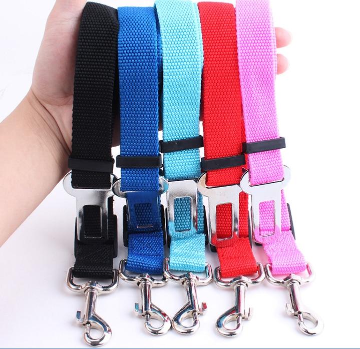 Universal Car Seat Belt Seatbelt Harness Lead Clip Pet Cat Dog Safety Belt Keep Your Dog Cat Safe During Drives Dog Safe Belt