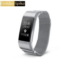 S18 умный Браслет интеллектуальная крови Давление сердечного ритма вызова/SMS напоминание Bluetooth для IOS Android Водонепроницаемость IP54