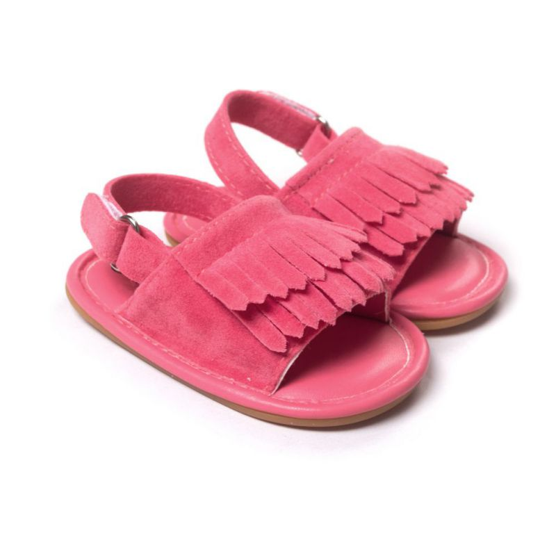 Hot-Sale-Baby-Sandals-Summer-Leisure-Fashion-Baby-Girls-Sandals-of-Children-PU-Tassel-Clogs-Shoes-7-Colors-4