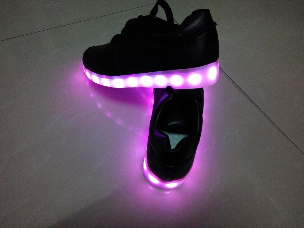 Мужские кроссовки YGF 2017 USB 7 lumineuse led shoes,unisex shoes led