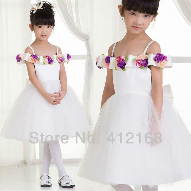 Diseños elegantes vestidos niña para bodas y fiestas infantiles ...