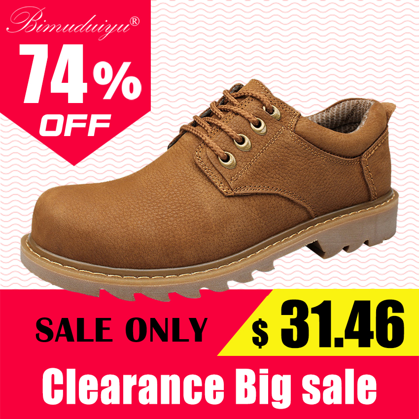 BIMUDUIYU Mens Casual Shoes Nubuck Genuine Leather Shoe Retro Wear-Resisting Zapatillas Con Luces Front Tie Shoes Zapatos Hombre