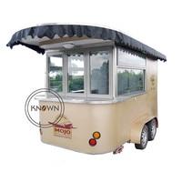 food cart trailer mobile fryer food cart food van trailer
