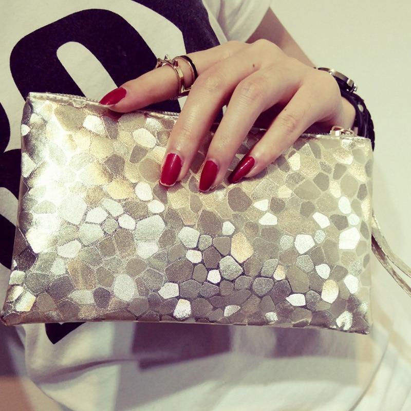 mágica carteira mulheres wristlet bolsa Composição : PU Leather