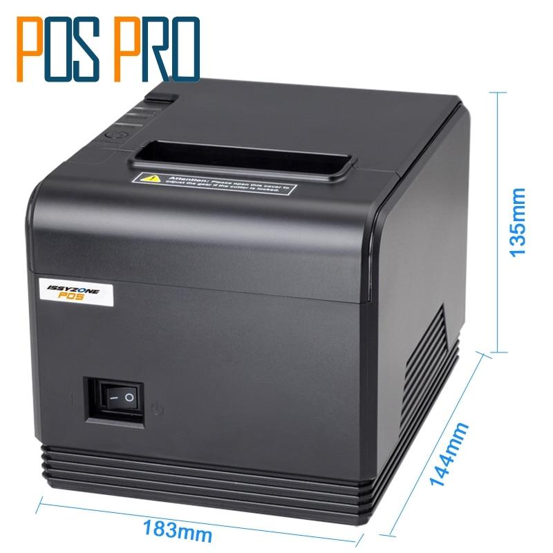 ITPP066 Haute Qualité 80mm Reçu Thermique Imprimante POS Imprimante thermique imprimante 260 mm/s automatique cutter USB + Série ESC/POS