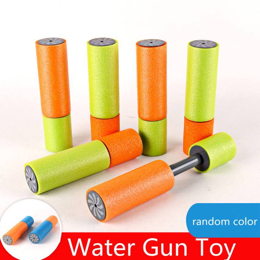 1PC Foam Water Pistol Shooter Water Shooter For Children Beach Water Guns Super Cannon Kids Toy Random Color