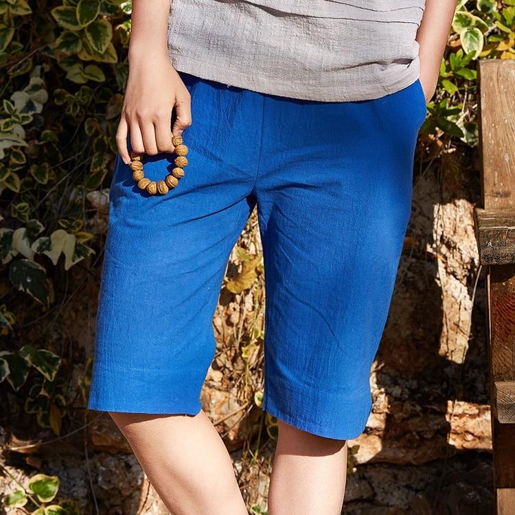 Aliexpress.com : Buy 2016 New Solid Cotton linen Elastic waist ...