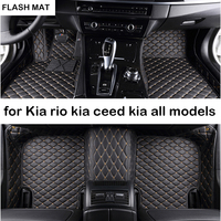 Custom car floor mats for kia rio 3 sportage ceed soul optima sorento niro stinger sorento All models car mats