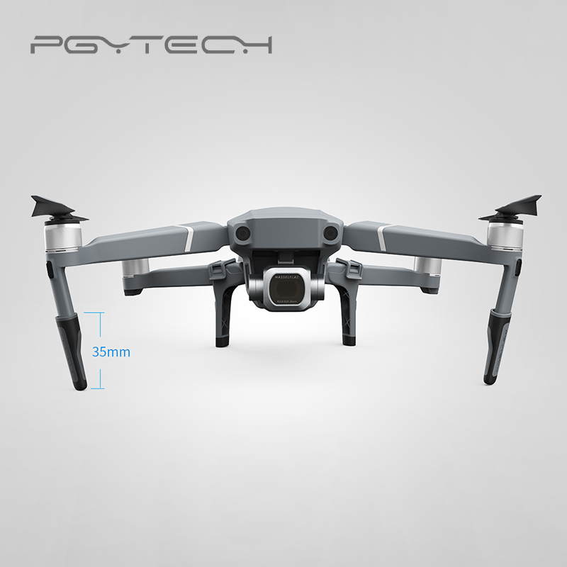 PGYTECH Extended Landing Gear For Mavic 2 pro/zoom Support Protector Extension Replacement Fit for DJI Mavic 2 drone Accessories
