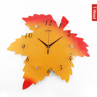 Wooden arch hammock brief wall clock fashion personality decoration clock and watch silent pocket watch wall clock