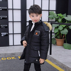 Image 4 - 2019 Childrens Boysr Clothing 12 14 kids Winte parka 15 down Cotton Jacket Thickening 10 Outerwear & Coats clothes  30 Degrees