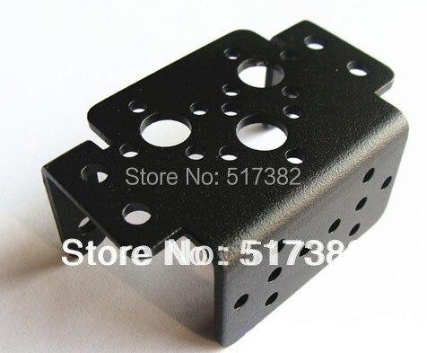 10pcs lot Aluminum Multipurpose Brackets For Standard Servos And Robot Arm Mechanical Robot Mount Wholesale Retail