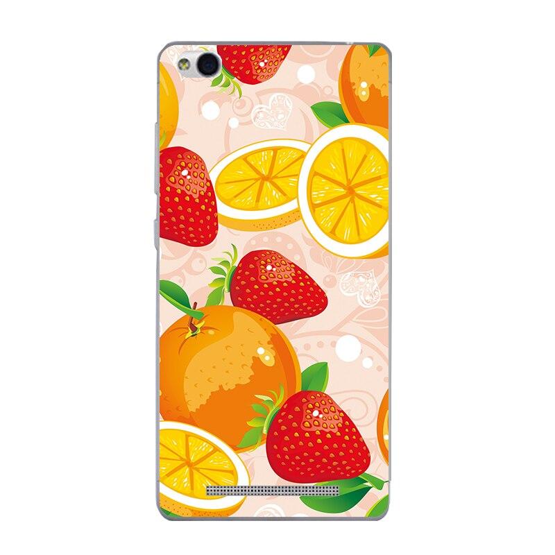 Для Xiaomi Redmi 3 телефона чехол для redmi3 В виде ракушки прозрачный hongmi3 ультра тонкий чехол арбуз фрукты шаблон Капа кожи гель
