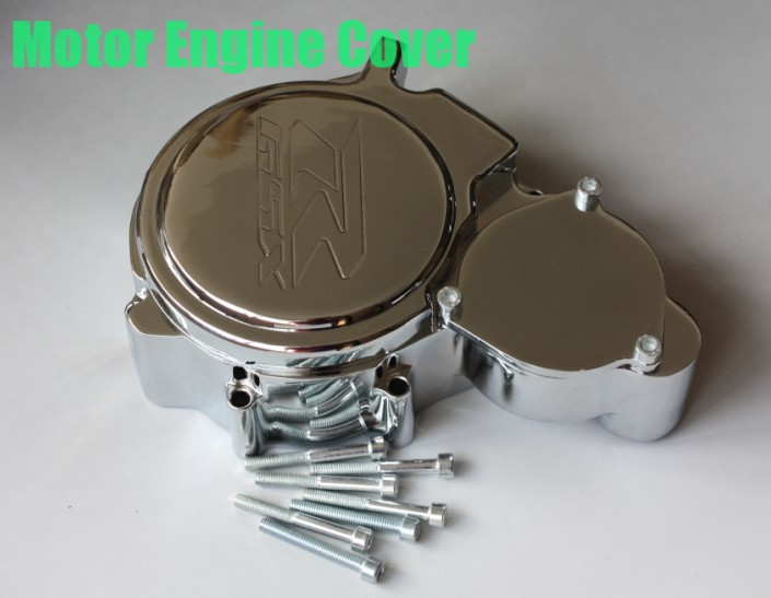 Aftermarket free shipping motorcycle accessories Engine Stator cover for Suzuki GSXR600/750 2006 2007 2008 2009-2013 CD Left aftermarket free shipping motorcycle parts billet engine stator cover for honda cbr600rr f5 2007 2012 chrome left