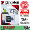 ПРОДАЖА Kingston карта micro sd карты памяти 128 ГБ класс 10 80MBs высокая скорость microsd картао де memoria tarjeta micro sd карт tf карты