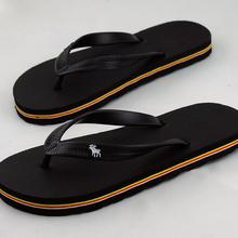 40-44 wholesale man sandals slippers new slippers thick bottom platform slope beach male sandals black red green