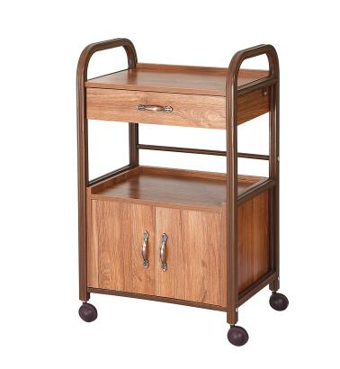 Beauty cart Chinese style with drawer tools cabinet fire cupping traditional Chinese medicine tool car beauty salons.