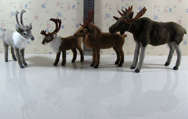 simulation reindeer model toy polyethylene&furs handicraft,Christmas decoration home decoration gift <font><b>a2505</b></font> image